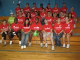 A team from Accenture volunteers for the Boys & Girls Club event in Indianapolis