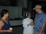 Fiore School in the Philippines - Steve Heintz and Ayo Reyes enjoy their visit with Sister Annie