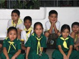 Fiore School in the Philippines - The students of Fiore school in Manila